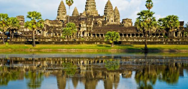 أين تقع مملكة كمبوديا