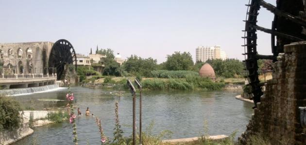 أين تقع مدينة حماه