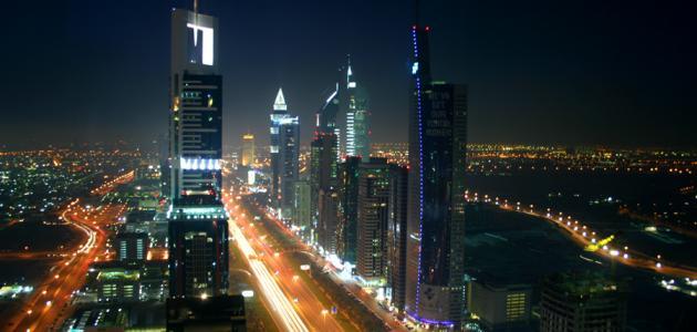 أين تقع دبي في الإمارات