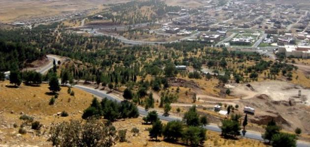 أين يقع إقليم كردستان