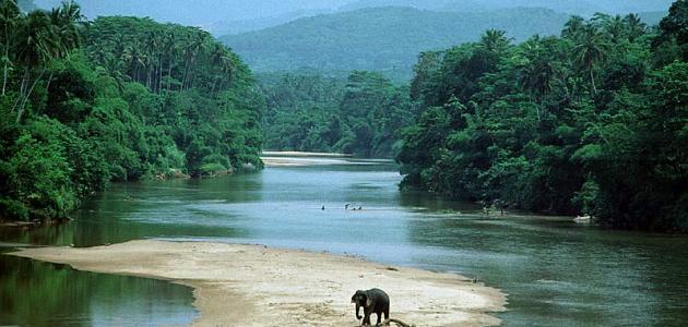 أين تقع جزيرة سريلانكا