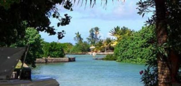 أين تقع جزر موريسيوش