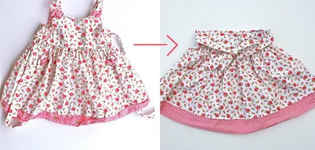 9b8cac258ecd7 كيف أستفيد من فستان قديم - موضوع