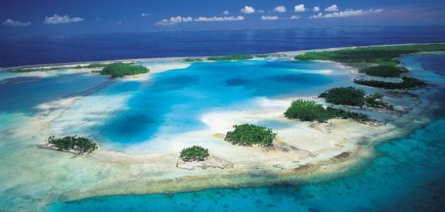 أين تقع جزر تاهيتي