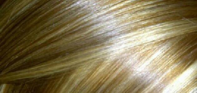 طريقة عمل صبغة الشعر في المنزل