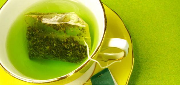 كيف يشرب الشاي الأخضر