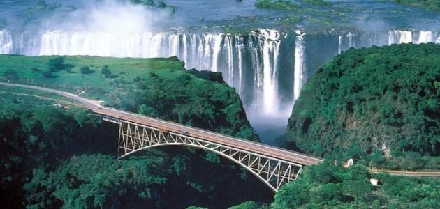 أين تقع دولة زامبيا