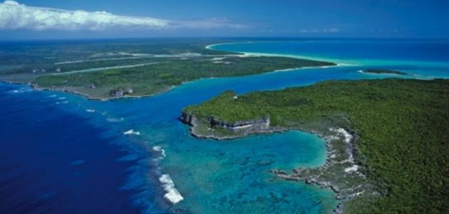 أين تقع جزيرة كاليدونيا