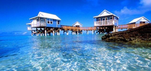 أين تقع جزيرة الكاريبي