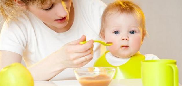 كيف يتم الفطام للطفل