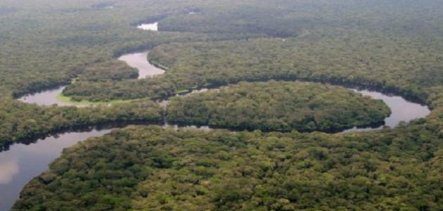 أين يصب نهر الكونغو