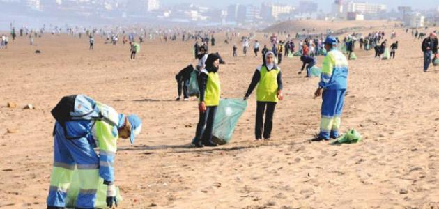 كيف نحافظ على نظافة الشاطئ