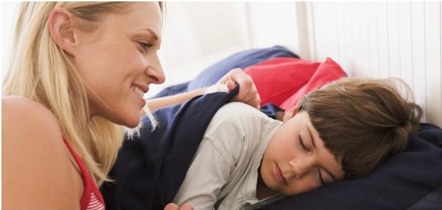 عنصر غذائي هام جدا لمساعدة الأطفال على النوم
