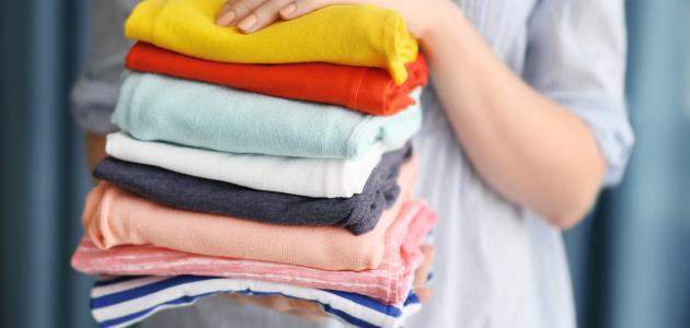 كيف أثبت لون الملابس