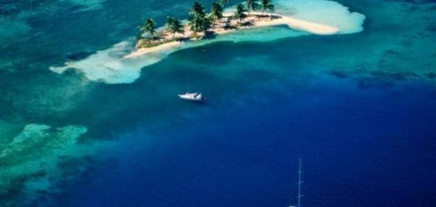 أين تقع جزيرة بليز