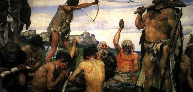 كيف كان يعيش الإنسان في العصر الحجري
