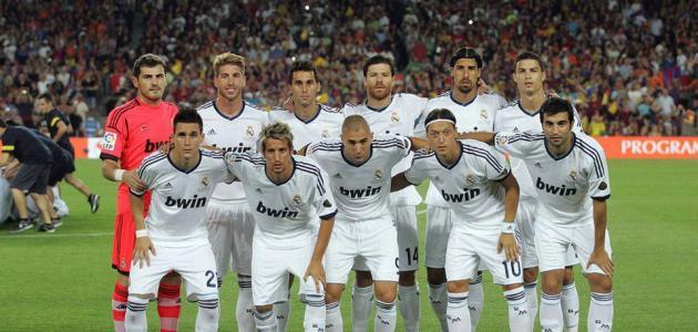 تشكيلة ريال مدريد 2013