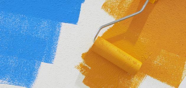 كيف يتم دهان الجدران