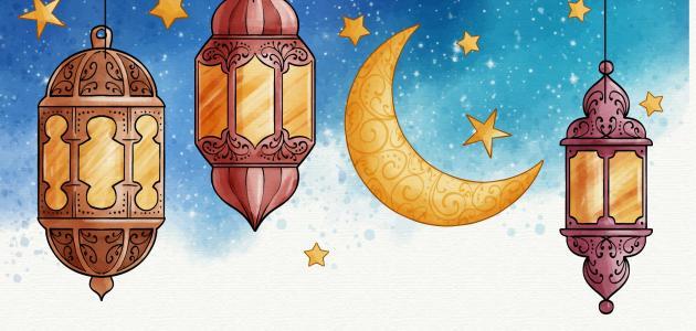 كيف كان يعتكف الرسول في رمضان