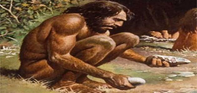 كيف عاش الإنسان البدائي