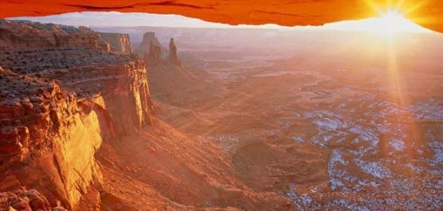 أين يقع جبل الشمس في عمان