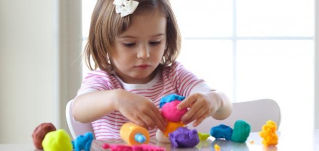 كيفية صنع صلصال آمن للأطفال