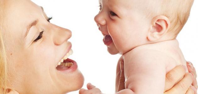 غذاء طفل الستة أشهر