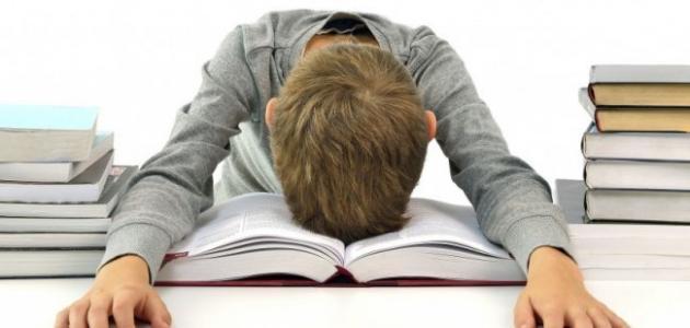 كيف تتخلص من قلق الامتحان