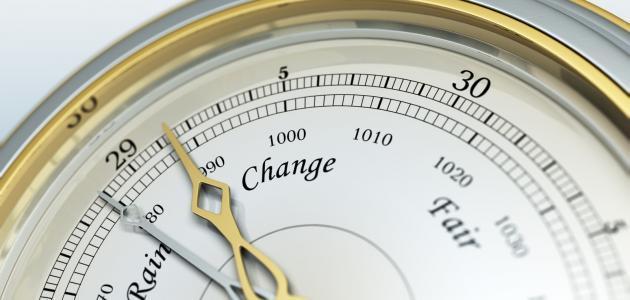 مقياس الضغط الجوي