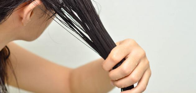طريقة لعلاج سقوط الشعر