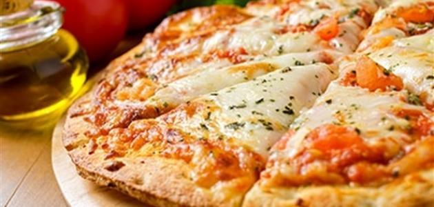 طريقة عمل البيتزا مارغريتا