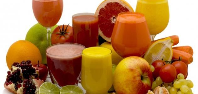 طريقة عصير لذيذ وسهل