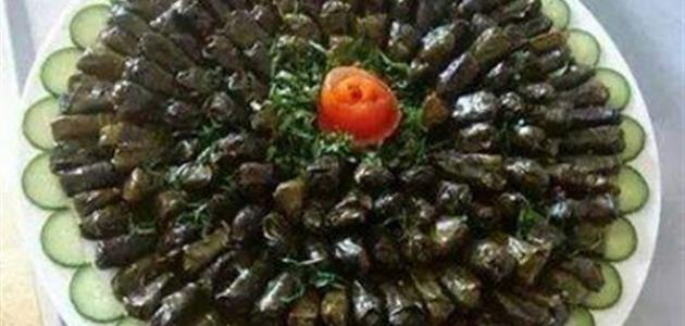 طريقة عمل ورق العنب محشي