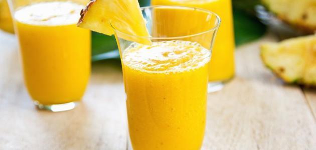 طريقة تحضير عصير المانجو الطازج