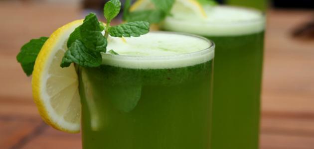 تحضير عصير ليمون بالنعناع
