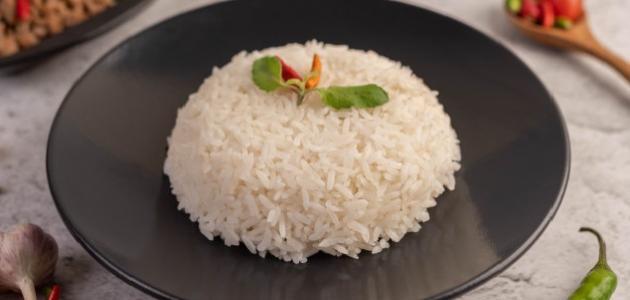 طريقة عمل أرز على البخار