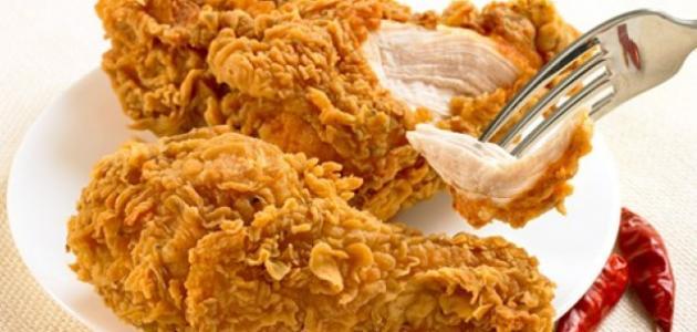 طريقة تتبيل دجاج البروستد