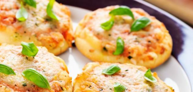 طريقة عمل البيتزا بالكبد والقوانص