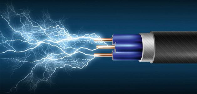 كيف نحسب شدة التيار الكهربائي