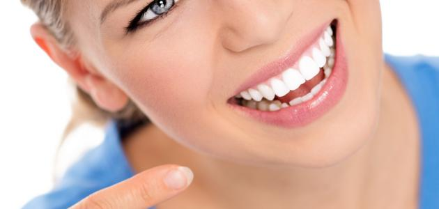 تبييض الأسنان بطريقة طبيعية