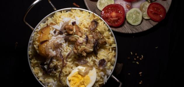 طريقة عمل أرز زربيان باللحم
