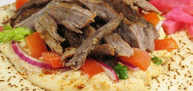 طريقة تحضير شاورما اللحم