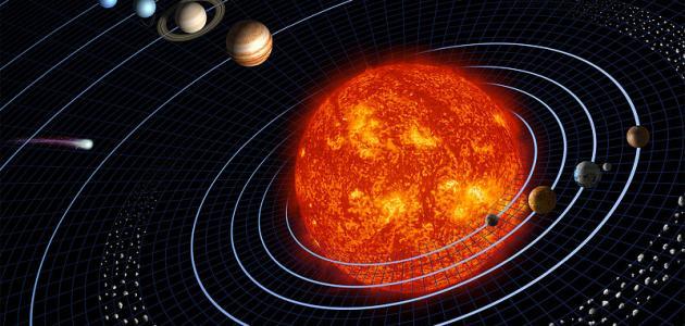 كيف يتكون نظامنا الشمسي