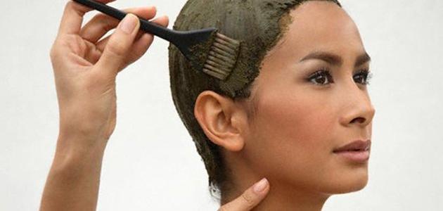 طريقة حناء الشعر الأبيض