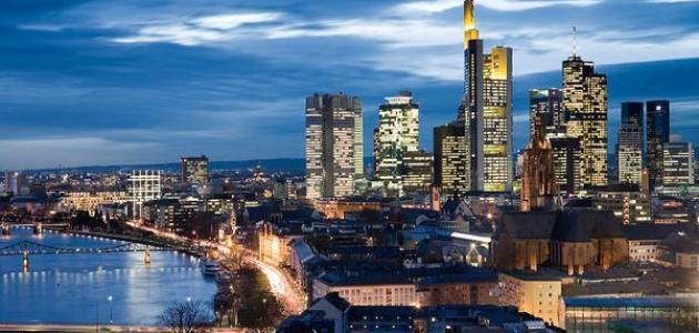 أين تذهب في فرانكفورت