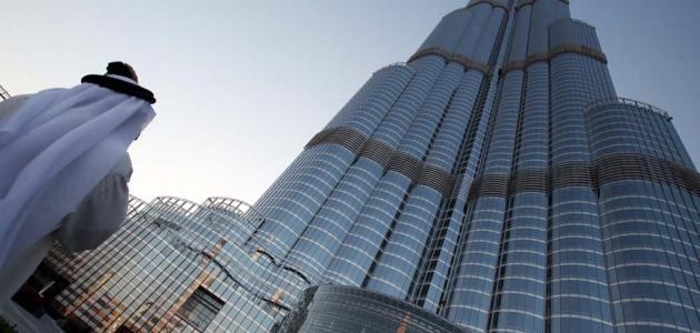 كيف بني برج خليفة