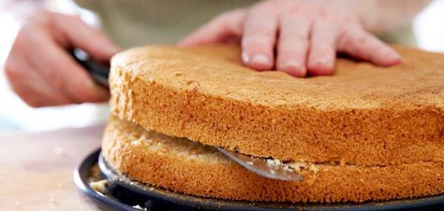 طريقة خبز الكيك على الغاز