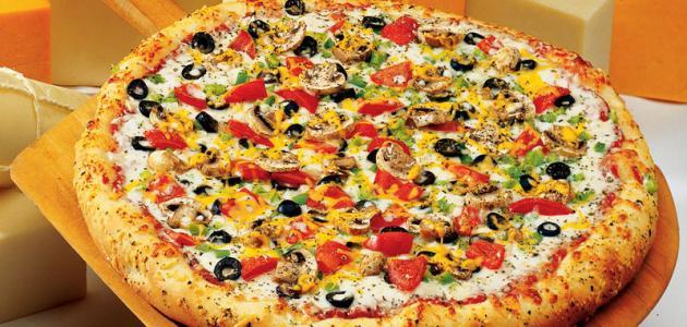 أنواع البيتزا