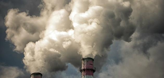 بحث حول تلوث الغلاف الجوي