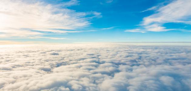 أنواع الغيوم